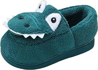 WINJIN Chaussures Enfants BéBé Fille Chaussures En Coton Pour Enfants De Dessin Animé AntidéRapant Chaud D'Hiver Chaussons...