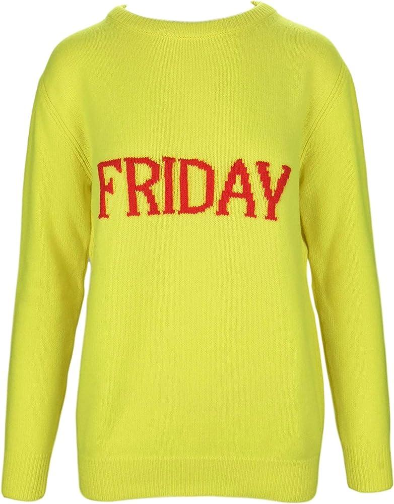 Alberta ferretti friday, maglione,  pullover,felpa per donna,70% lana, 30% cachemire ALBERTA FERRETTI J0943 Friday