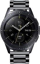 BBINLUN Bandas de Reloj compatibles con Samsung Galaxy Watch 42mm/46mm,Active 2,Samsung Gear S3 Classic/Frontier Smartwatch Banda de Acero Inoxidable Reemplazo 20mm 22mm Business Metal Watch Correas