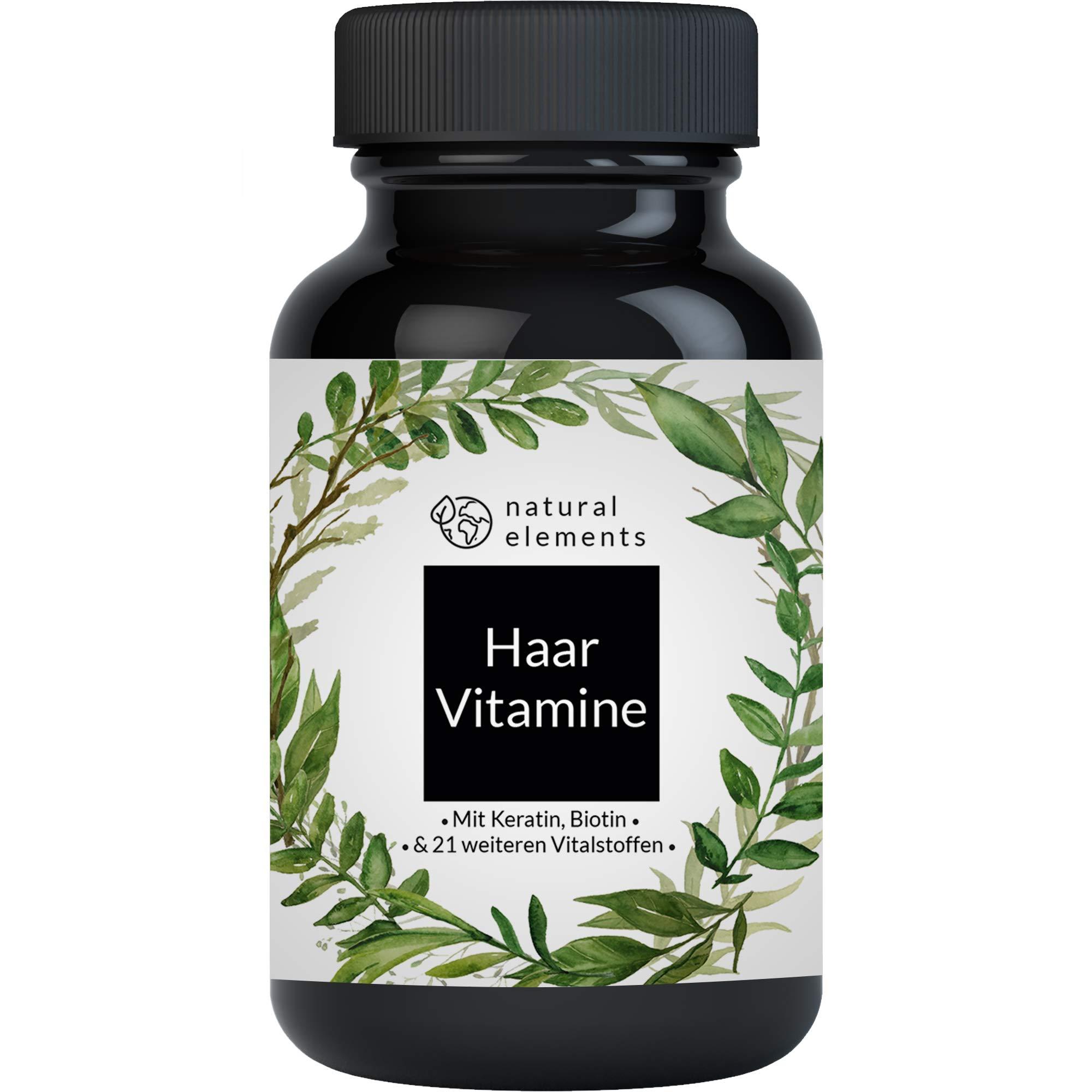 Haar Vitamine 180 - Natürliche Mittel gegen Haarausfall