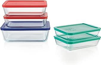 Best pyrex 10 piece glass storage set Reviews