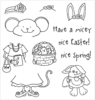 Stampers Anonymous - Inky Antics Clear Stamp Set - Easter Millie