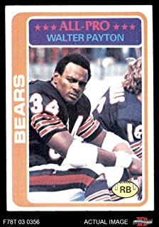 1978 Topps # 200 Walter Payton Chicago Bears (Football Card) Dean's Cards 5 - EX Bears