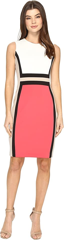 Sleeveless Color Block Sheath CD7M1V5K