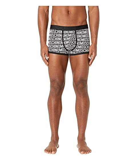 Moschino All Over Jersey Stretch Trunk