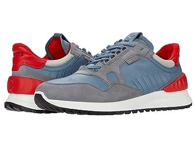 ECCO Astir Athletic Sneaker (Titanium/Mirage/Concrete/Scarlet) Men