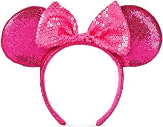 Disney Minnie Mouse Glitter and Sequin Ear Headband Imagination Pink