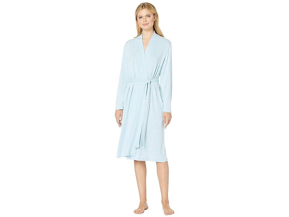 N by Natori Soho Brush Robe (Sky Blue) Women