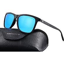cc9bfd382b MERRY  39 S Unisex Polarized Aluminum Sunglasses Vintage Sun Glasses For Men  Women