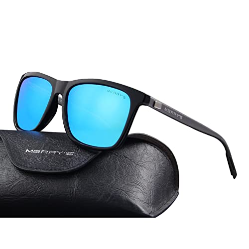 61583fb7d61f MERRY'S Unisex Polarized Aluminum Sunglasses Vintage Sun Glasses For  Men/Women S8286