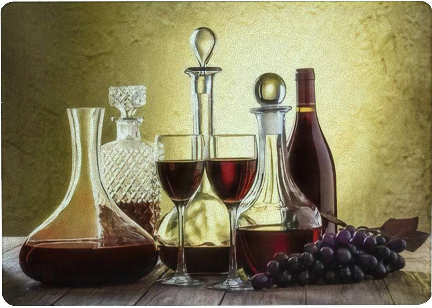 Now on sale Tempered Glass Cutting Board Decanters with glass wine Max 62% OFF red o and