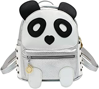KINGSEVEN Womens Backpack Purse Small Casual Shoulder Daypack with Panda Pattern