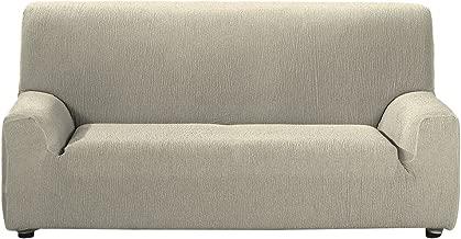 Casa Textil Daniela - Funda para sofá, 3 plazas, Color Beige, tela