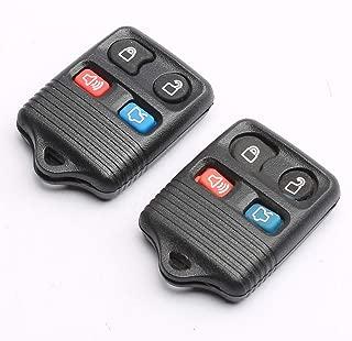 CENTAURUS Key Fob (Set of 2) Replace FCC ID: CWTWB1U212 CWTWB1U331 GQ43VT11T CWTWB1U345 Replacement for Ford Lincoln Mercury Mazda - keyless Entry Remote 4 Button