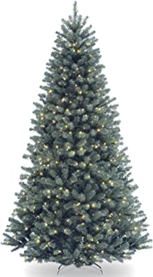 7.5' Pre-Lit North Valley Spruce Artificial Christmas Tree - Clear Lights