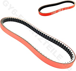HIGH PREFORMANCE RACING DLH DRIVE BELT RED > SIZE 842-20-30 < GY6 2 & 4-STROKE 125-150CC/ 152QMI-157 QMJ SCOOTER MOPED TAOTAO PEACE VESPA JONWAY VIP BENZHOU ...