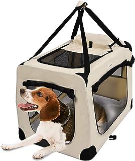 comprar comparacion MC Star Transportin Perro Gatos Mascotas Plegable Portátil Impermeable Oxford Portador Bolsa de Transporte con tapete de v...