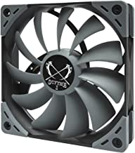 Scythe Kaze Flex 120mm Fan, Quiet Case/CPU Cooler Fan, 4-Pin 300-1200 RPM(SU1225FD12M-RHP)