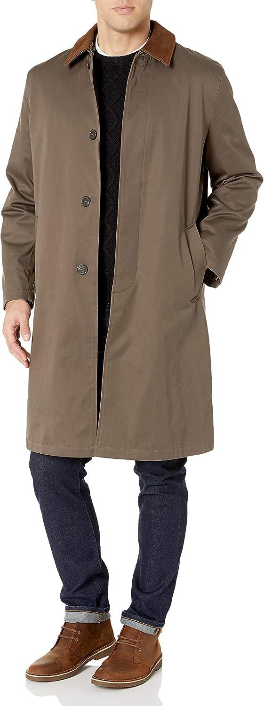 Hart Schaffner Marx Men's Raincoat, Green, 46R