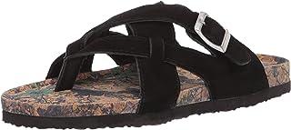 Muk Luks Women's Shayna Terra Turf-Black Sandal