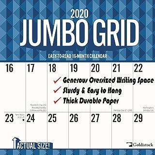 2020 Large Planner Wall Calendar-