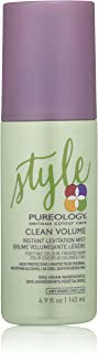 Pureology | Clean Volume Instant Levitation Mist | Leave-In Spray | All-Day Volume | For Fine, Color Treated Hair | Vegan