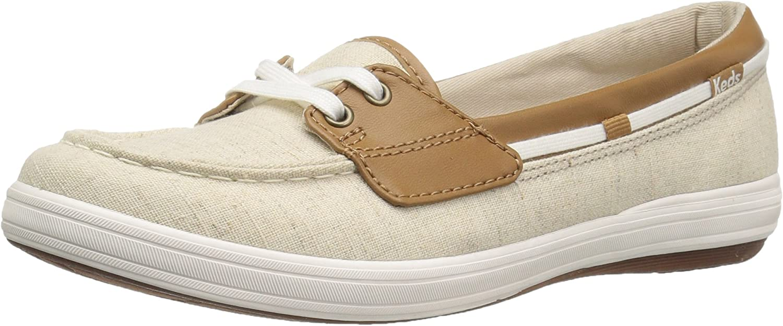 Keds Women's Glimmer Linen Fashion Sneaker
