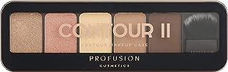 Profusion Cosmetics Pro Makeup Case Contour II Palette - Medium Dark