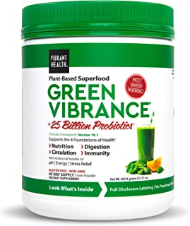 green vibrance pills vs powder