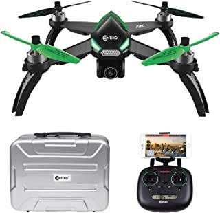 Contixo F20 RC Remote App Controlled Quadcopter Drone | 1080p HD WiFi Camera, Follow Me, Auto Hover, Altitude Hold, GPS, 1-Key Takeoff/Landing Auto Return Home Includes Storage