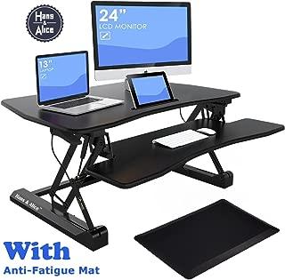Best adjustable monitor riser standing desk Reviews