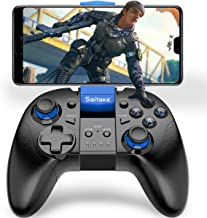 Gamepad for iOS, BEBONCOOL Mobile Game Controller for iPhone, Android Remote Controller for PUBG, Mobile Game Wireless Controller with Triggers, Joysticks Blue