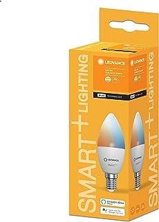 LEDVANCE AC258030055 Smart+ WiFi B40 5W TW 230V LED Bulb Frosted Off White