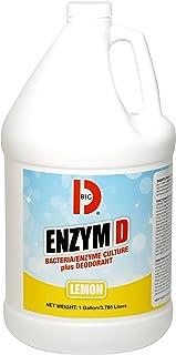 Big D Industries 1500 Enzym D Digester Liquid Deodorant, Lemon, 1gal (Case of 4 Gallons)