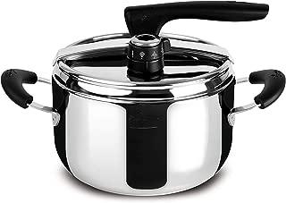Lagostina Gioiosa 4 Seasons Pressure Cooker, 5 Litres, 18/10 Steel