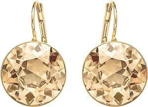 swarovski circle pierced earrings
