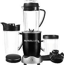 Nutribullet N17-1007m Rx 10 Piece Nutrient Extractor Set, Black