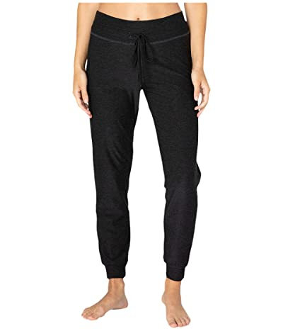 Beyond Yoga Luxe Lounge Around Midi Joggers (Black) Women