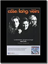gasolinerainbows - Neko Case, K.D. Lang, Laura Veirs - Case Lang Veirs. - Matted Mounted Magazine Promotional Artwork on a...