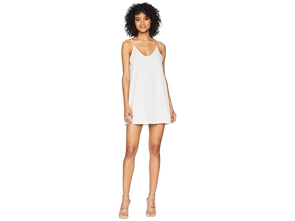 Hurley Quick Dry Coastal Slip Dress (Light Bone) Women