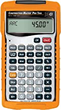 Calculated Industries 4080 Construction Master Pro Trig Advanced Construction Math Feet-Inch-Fraction Calculator with Full...