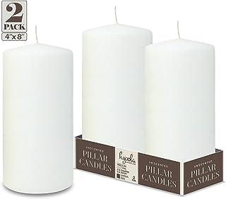 colore Papstar 15361-4 candele /Ø 50 x 80 mm Avorio