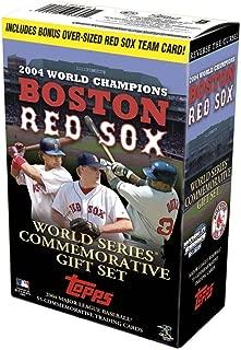 2004 BOSTON RED SOX Topps World Series Commemorative Gift set
