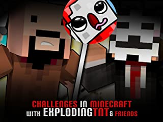 Clip: Challenges in Minecraft with ExplodingTNT & Friends