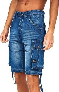 Crosshatch Men's Denim Shorts