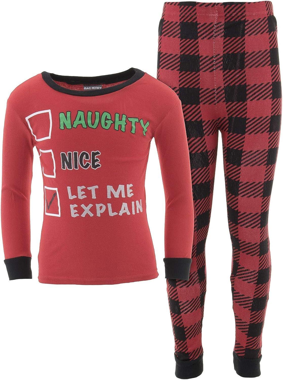 MacHenry Little Boys Novelty Christmas Cotton Pajamas