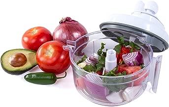 Salsa Master Salsa Maker, Food Chopper, Mixer and Blender - As Seen On TV Manual Food Processor
