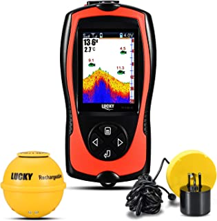 LUCKY Wireless/Wired Sonar Fish Finder