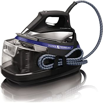Rowenta Silence Steam Extreme DG8962 Centro de Planchado, autonomía ilimitada, 7.3 bares, golpe vapor 460 g/m , silencioso, suela Microsteam Laser 400