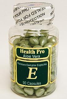 Vitamin E Skin Oil Aloe Vera, 90 Softgels (Pack of 2)